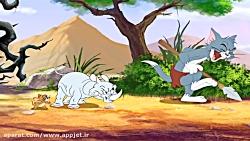 انیمیشن تام و جری گربه شکاری