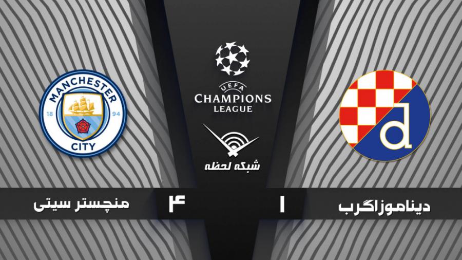خلاصه بازی دیناموزاگرب 1 - 4 منچسترسیتی - مرحله گروهی | لیگ قهرمانان اروپا 2020