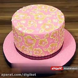نحوه برش کیک