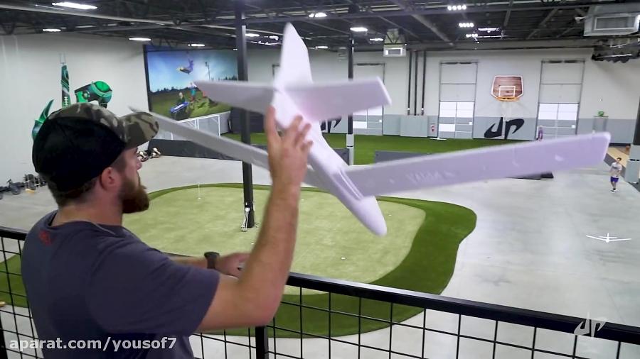 چالش پرتاب های خفن هواپیما