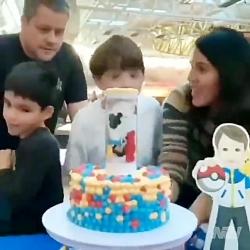 کلیپ خنده دار - کیک تولد جدید