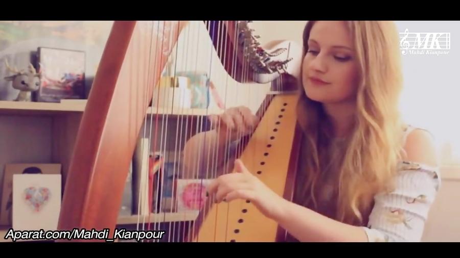 چنگ نوازی زیبای آهنگ مشهور دسپاسیتو (Harp Despacito) آموزش پیانو-آموزش تار-هارپ