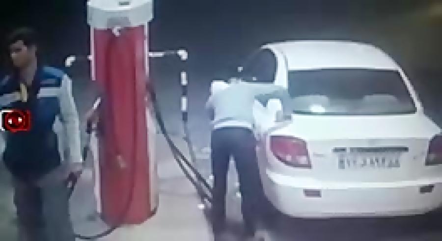 کلیپ خنده دار - پمپ بنزین