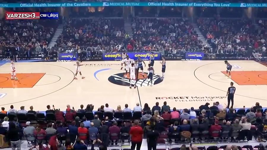 خلاصه بسکتبال هیوستون راکتس - کلیولند کاوالیرز