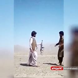 تمرین جالب تیراندازی در افغانستان