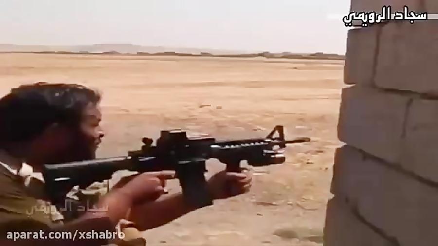 کلیپ حماسی نجبا در نبرد با داعش