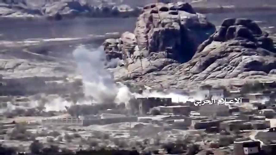 تار و مار کردن ارتش عربستان توسط انصارالله یمن در گذرگاه مرزی علب