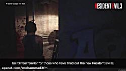 قسمتی از گیم پلی بازی Resident Evil 3 Remake