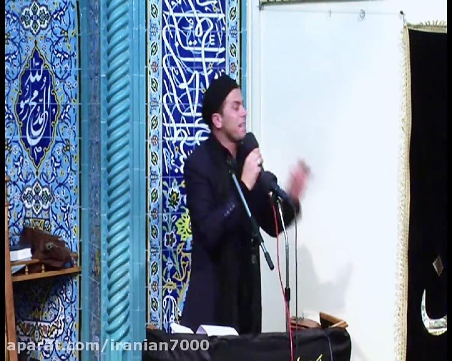 نوحه ترکی مداحی ایرانی در باکو