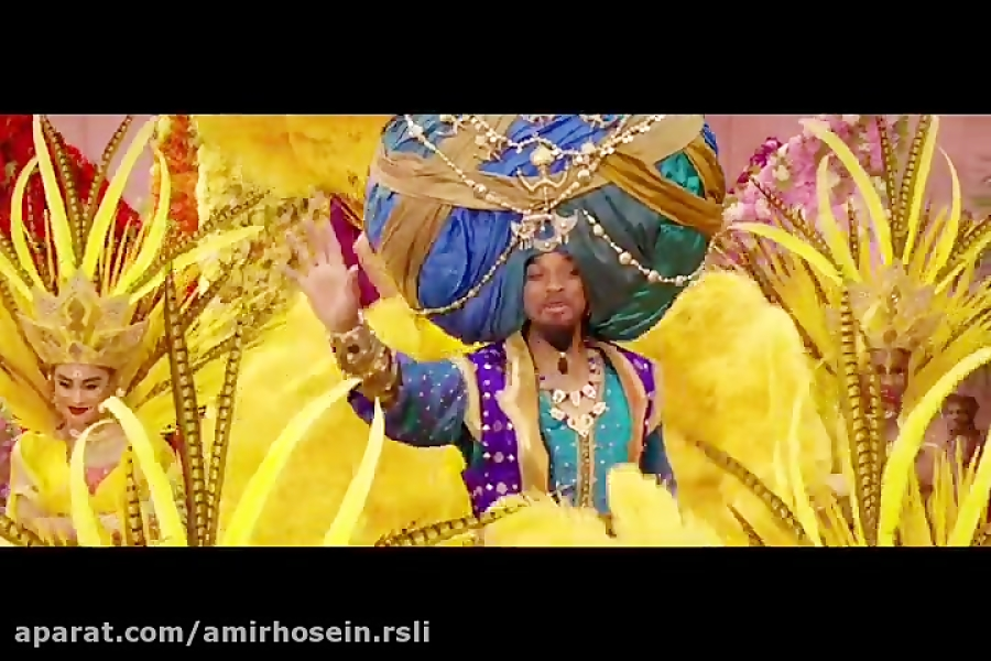سکانسی زیبا از علاالدین ۲۰۱۹