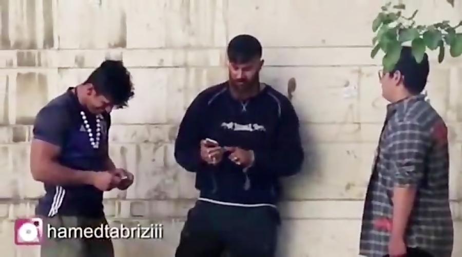 کلیپ جدید حامد تبریزی لات مجازی ، خفگیری