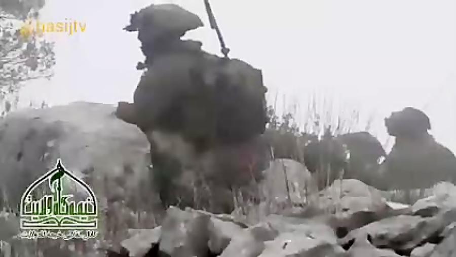 وقتی از پشت یواشکی از سربازهای اسرائیلی فیلم میگیری!