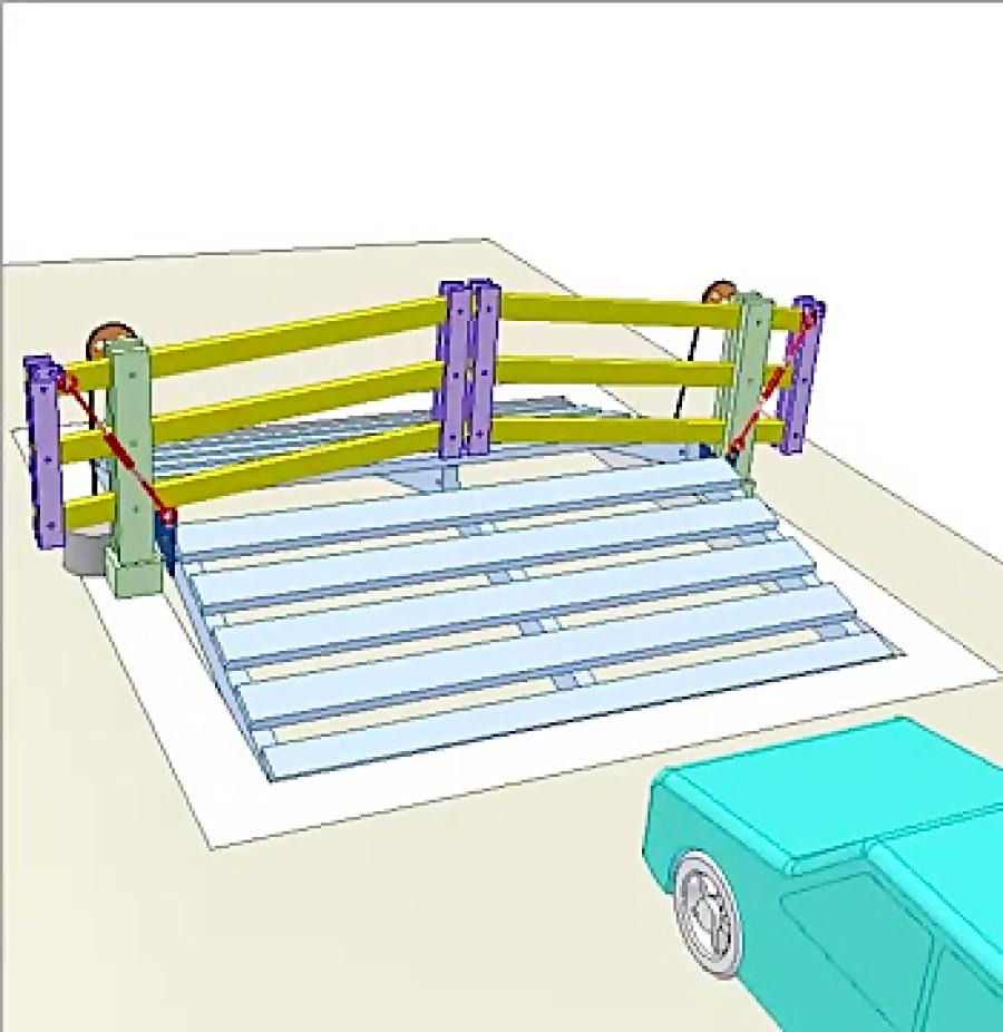 دروازه اتوماتیک مکانیکی 1