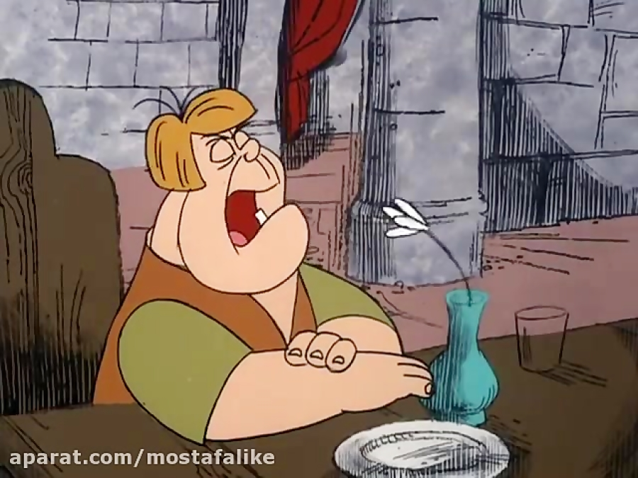 کارتون پلنگ صورتی-لوبیای سحرآمیز