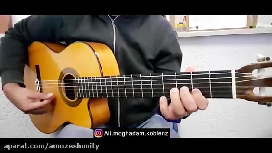 آهنگ عربی گیتار / گیتار آلابینا و عمرو دیاب / Alabina guitar - Amr diab gui