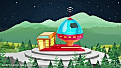 نمونه انیمیشن فضانورد ...