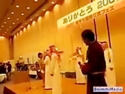 چه میکنه این اصلاحات در عربستان!...مـــا شـــاءالله...قر دادن به سبک سعودی ها