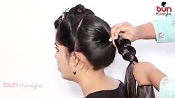 آموزش 3 مدل موی دخترانه برای عروسی
