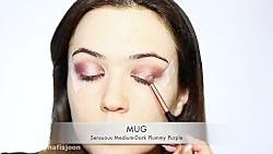 آموزش آرایش صورت - میکاپ شینیون صورت