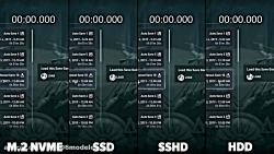M.2 NVME vs SSD vs SSHD vs HDD Loading Games