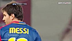 اولین رویارویی کریستیانو رونالدو و لینول مسی در لیگ قهرمانان اروپا