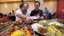 تور غذای  ایرانی در تهران قسمت اول فودرنجرمستر تیستر