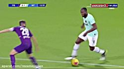خلاصه بازی فیورنتینا - اینتر از هفته شانزدهم سری آ ایتالیا