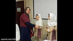 تدریس نشانه (ر) با حضور مادران گرامی ، کلاس سرکار خانم مؤدب