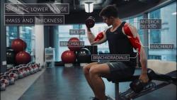 آموزش حرکت های بدنسازی  همراه با آناتومی بدن قسمت پنجم