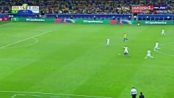 گل دوم برزیل به آرژانتین توسط فیرمینو | نیمه نهایی کوپا آمریکا 2019
