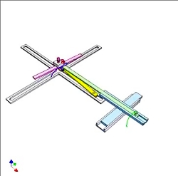مکانیسم رسم گل رز چهار لایه