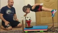 آرات حسینی و9 نفر از قدرتمندترین بدنسازان کودک جهان-کودک ورزشکار
