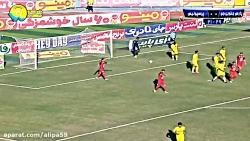 خلاصه بازی پارس جنوبی جم 0-1 پرسپولیس با گلزنی ترابی