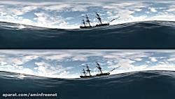 حس تو دریا داری{{ غرق میشی و یه اژدها با آتیش }} بهت حمله......__360 درجه ببین