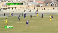 خلاصه بازی نود ارومیه - استقلال خوزستان