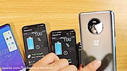 تست باتری موبایل های وان پلاس7Tوردمی نوت10و اوپو ردنو2 و ویو V17VVVVV2222V