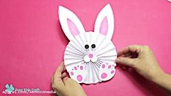 کاردستی بامزه خرگوش برای کودکان