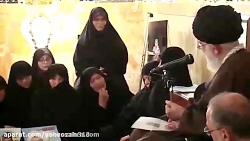 فیلم كامل دیدار خانواده شهدای مدافع حرم افغانستانی لشکر فاطمیون با رهبر انقلاب