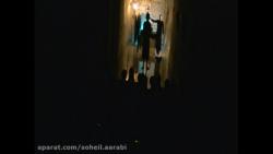 صحنه ی پایانی گیلگمش با بازی سهیل اعرابی به همراه یک خروس روی صحنه