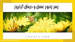 درمان آرتروز با زهر زنبورعسل