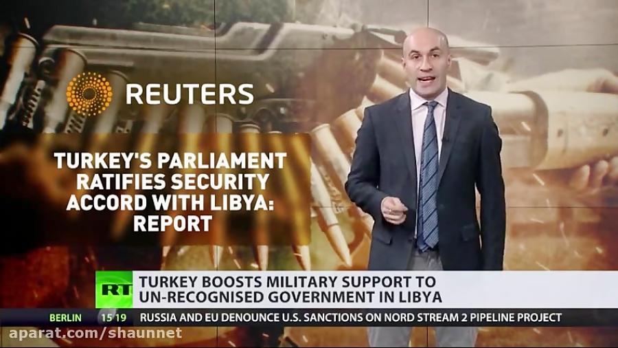 ترکیه با اعزام نیروی نظامی به لیبی در جنگ داخلی لیبی دخالت می کند