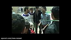 """حاشیه های بازی فوتسال  """"مظاهر - فروتن """"  (دربی نیروگاه)اسفند 96"""