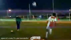 باشگاه فرهنگی ورزشی پارسان مهر - کار با توپ