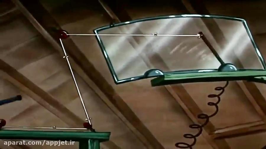 """کارتون تام و جری با داستان """" اشکال در اختراع تام"""""""