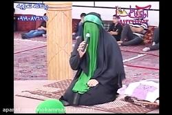 درآمد تعزیه حضرت زهرا نیم ور ۹۸ از حمزه کاظمی و کلانتری و گیوه کش