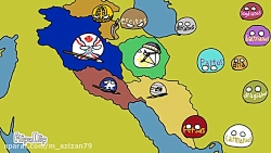 نقشه تاریخی ایران پیش از اسلام،