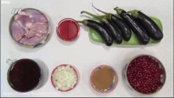 خورشت انار و بادمجان - آشپزی با سامان گلریز