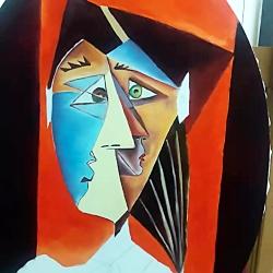 نقاشی ذهنی و سبک کوبیسم