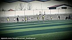 برخی موقعیتهای گل تیم نونهالان در نیمه بازی نهایی لیگ