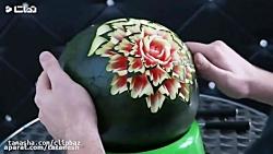 چند ایده جالب برای تزیین هندوانه(حتما ببینید)
